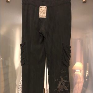 Silk Da-Nang cargo pants